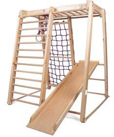 KindSport Holz Spielplatz Indoor